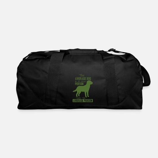 Average Bags & Backpacks - The average dog - Duffle Bag black