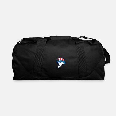Iconic Uncle Sam Wearing USA Top Hat Mascot - Duffle Bag
