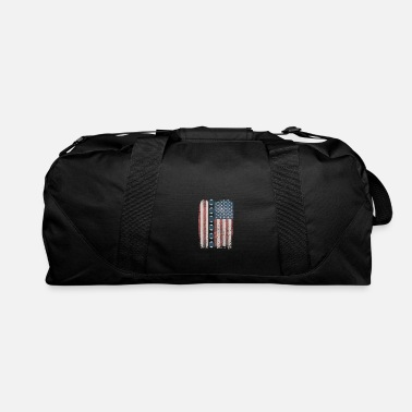 Down Flag with Footballs - Duffel Bag