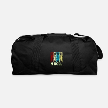 Home &amp Rock and Roll Rocknroll guitar metal band amp gift - Duffle Bag