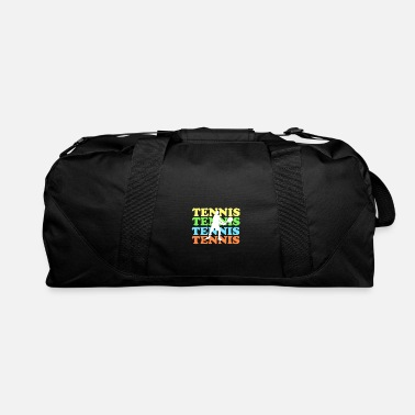 Tennis with colored font - Duffle Bag