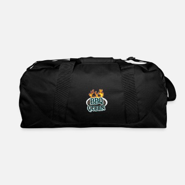 BBQ Queen with flames - Duffel Bag