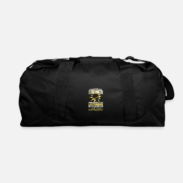 Prom Electrician electrical engineer Electricity Tec - Duffle Bag