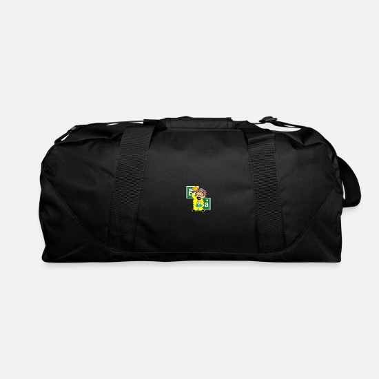 Food Chain Bags & Backpacks - Chicken chemical fast food - Duffle Bag black