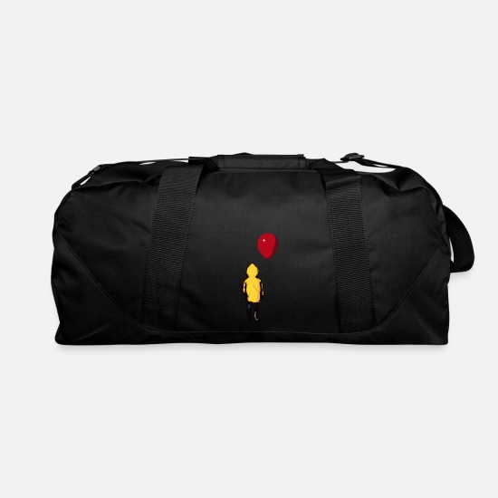 Clown Bags & Backpacks - It Georgie Balloon You'll Float Too - Duffle Bag black