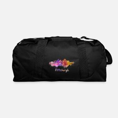 Pittsburgh Skyline Bridge - Duffle Bag
