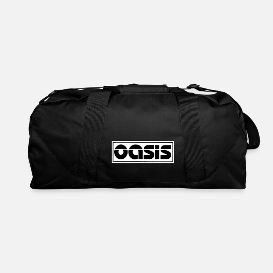 Oasis Bags & Backpacks - oasis band logo - Duffle Bag black