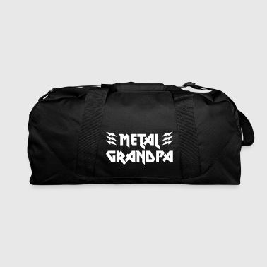 Metal Grandpa Family Shirt Cup Accessory - Duffel Bag