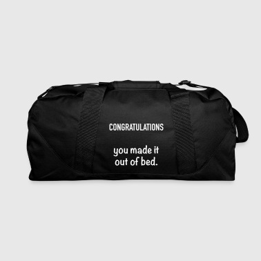 Congratulations - Duffel Bag
