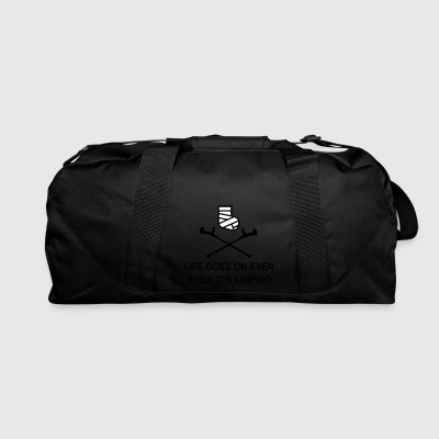 broken leg - Duffel Bag