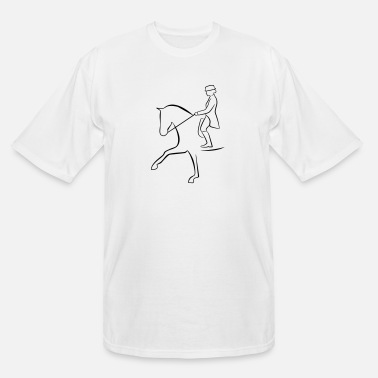Dressage dressage - Men's Tall T-Shirt