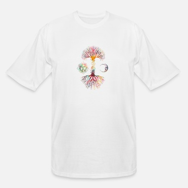 DNA Tree - Men's Tall T-Shirt