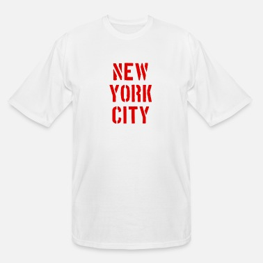 United States New York - NY - NYC - City - USA - United States - Men's Tall T-Shirt