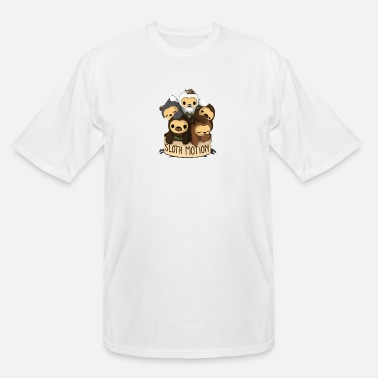 Motion SLOTH MOTION - Men's Tall T-Shirt