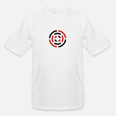 Stylish circle sign - Men's Tall T-Shirt