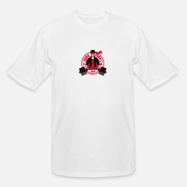 Fitness Center Kung Fury's fitness center - Men's Tall T-Shirt