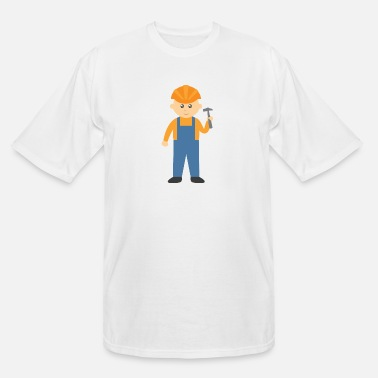 Baby builder - Men's Tall T-Shirt