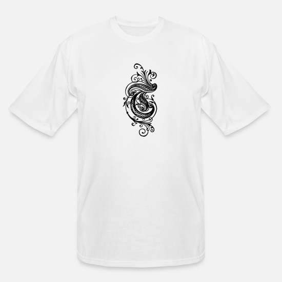 Set T-Shirts - Elegant design - Men's Tall T-Shirt white