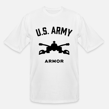 Schland US Army Armor - Men's Tall T-Shirt