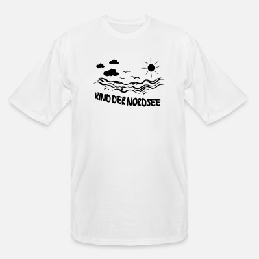 North Sea Child of the North Sea - Men's Tall T-Shirt
