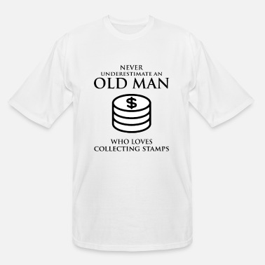 Currency Coin collecting Collector Dad Grandpa Fathers Day - Men's Tall T-Shirt