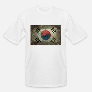 Flag of south korea - Men's Tall T-Shirt
