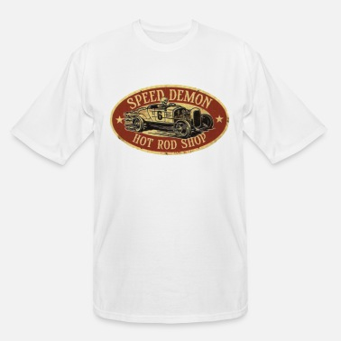 Speed Speed Demon Hot Rod Shop - Men's Tall T-Shirt
