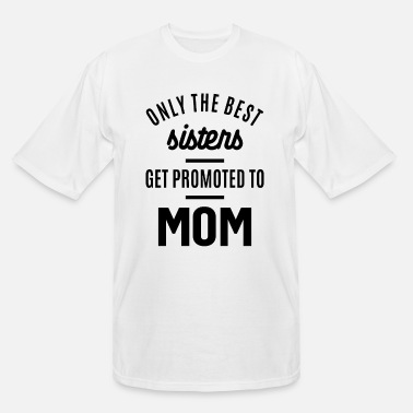 Womens Promoted To Mom - Mother's Day Gifts - Men's Tall T-Shirt