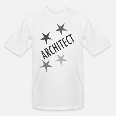 4 Stars 4 Star Architect - Men's Tall T-Shirt