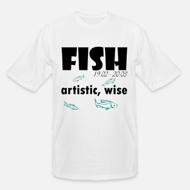 Horoscope horoscop fish - Men's Tall T-Shirt