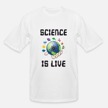 Motion Science is life - Men's Tall T-Shirt