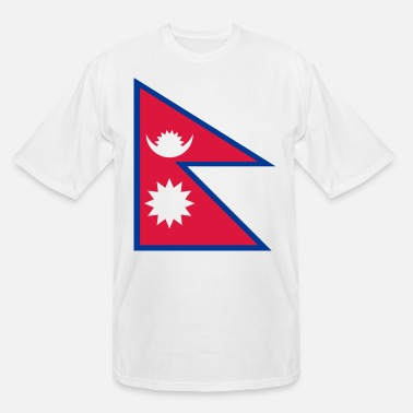 Championnat Flag Nepal (dd)++ - Men's Tall T-Shirt