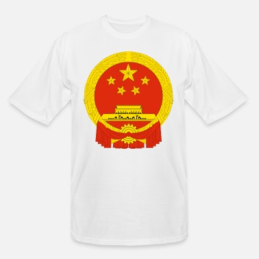 Championnat Crest China (dd)++ - Men's Tall T-Shirt