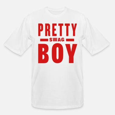 Pretty PRETTY BOY SWAG - Men's Tall T-Shirt