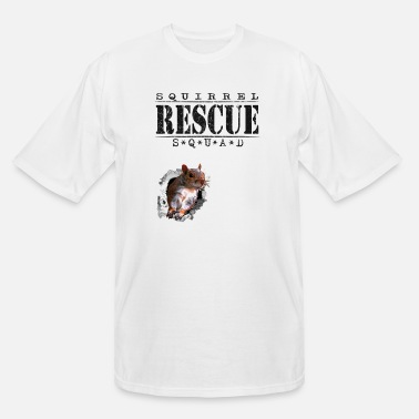 Rehabb Squirrel Rescue Squad - Men's Tall T-Shirt