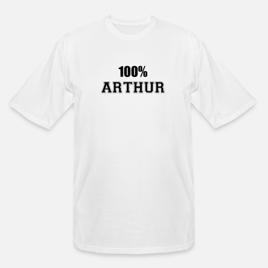 Arthur T-Shirts - 100% arthur - Men's Tall T-Shirt white