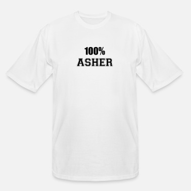 Asher 100% asher - Men's Tall T-Shirt