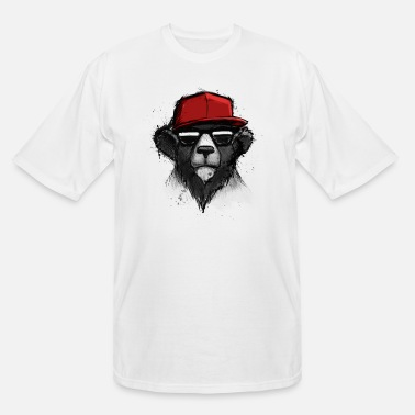 Urban Dope Bear - Men's Tall T-Shirt