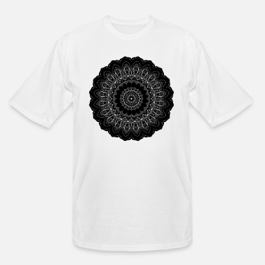 Inverse Inverse Geometric Silhouette 3 - Men's Tall T-Shirt
