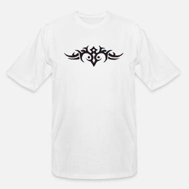 Mandala Men/'s Black T-Shirt by InkAddict