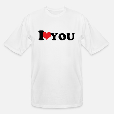 Heart I ♥ you - Men's Tall T-Shirt