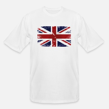 Uk Union Jack - UK Flag - Men's Tall T-Shirt
