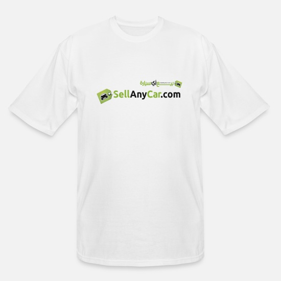 Yalcin Saygin T-Shirts - SellAnyCar.com original Logo - Men's Tall T-Shirt white