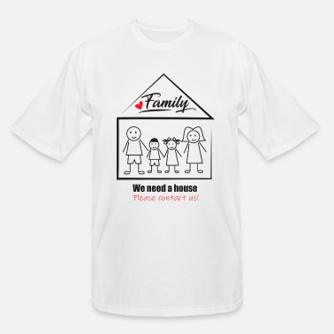 Housing search house, need a house, - Men's Tall T-Shirt