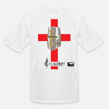 Middle Ages crusader_red - Men's Tall T-Shirt