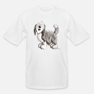 Bearded Collie Funny Bearded Collie - Beardie - Dog - Gift - Men's Tall T-Shirt