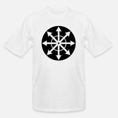 Symbol CHAOS WHEEL 1 - Men's Tall T-Shirt