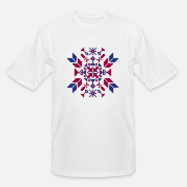 Tradition Traditional embroidery - Men's Tall T-Shirt