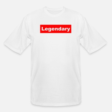 Legendary legendary logo - Men's Tall T-Shirt