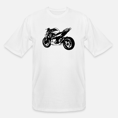 Bike motorcycle Naked Bike - Men's Tall T-Shirt